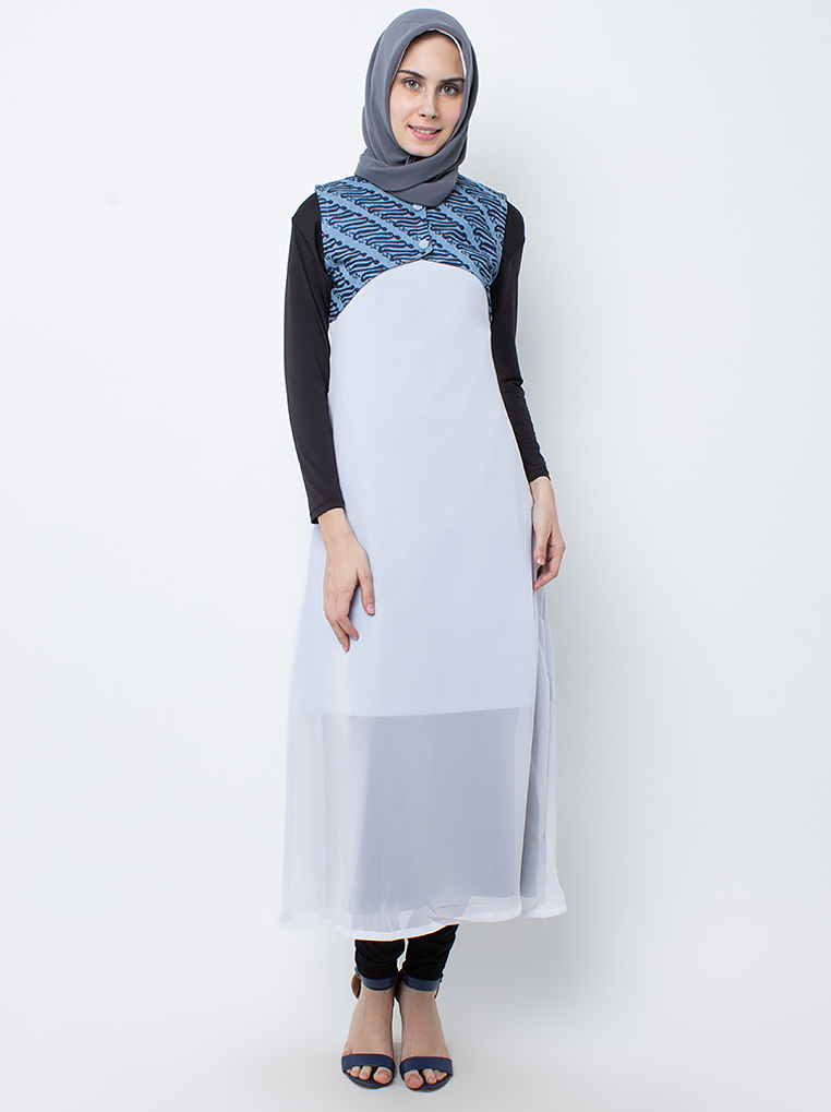 Faiza Dress [Light Blue]